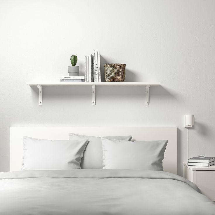 Ikea Bergshult Ekby St 214 Dis Wall Shelf White White In