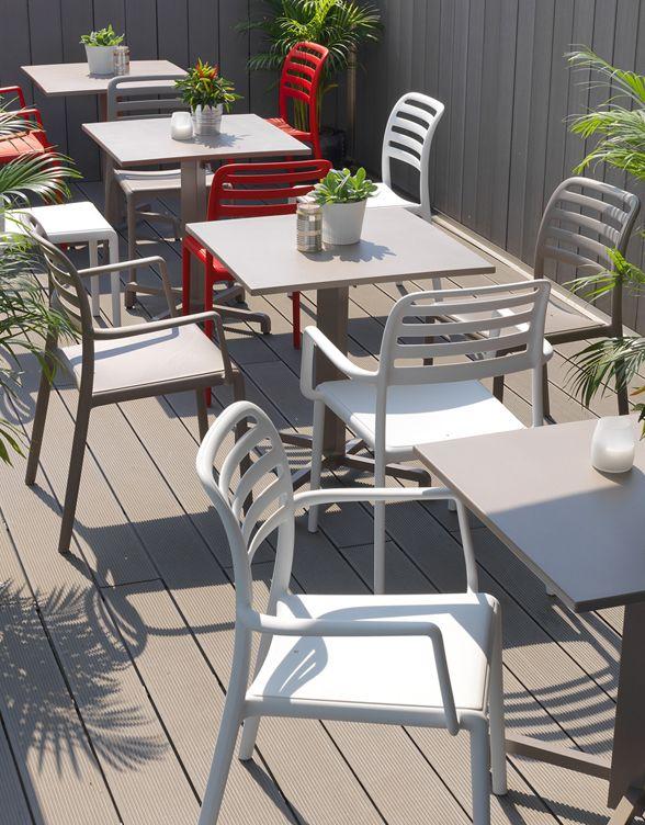 Costa Arm & Side Chair - Nardi