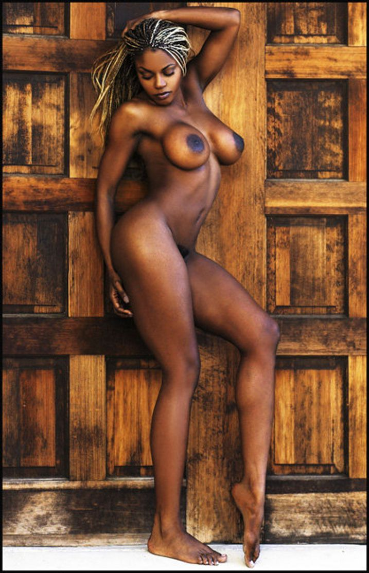 Nude beautiful black ladies — 7