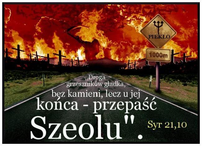 Droga grzesznika Syr 21,10