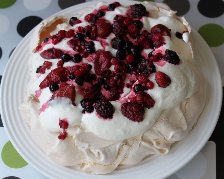 Pavlova torta | Kinga blogger