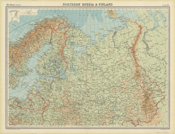 Northern Russia and Finland, 1922