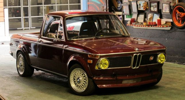 BMW 1602 Converted Into a Six-Cylinder Sports Truck - Carscoop