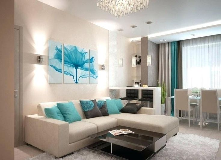 Schlafzimmer Warme Oder Kalte Farben La Photographie   Living room turquoise, Turquoise living ...