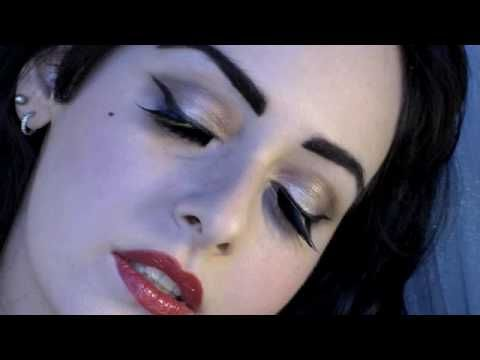 DITA VON TEESE BURLESQUE MAKEUP TUTORIAL TEASER FASHION PIN UP GIRL LOOK. Vlogger is MasqueradeMakeup. She loves to do Celebrity Makeup Tutorials: Lady Gaga, Katy Perry, Rihanna, Jennifer Lopez, & Avril Lavigne. You can subcribe to here here- http://www.youtube.com/user/MasqueradeMakeup