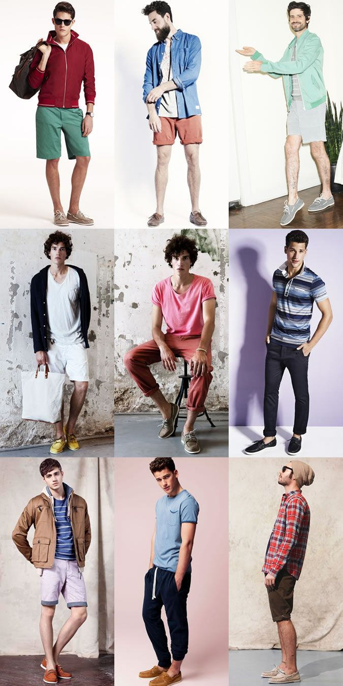 Lookbook Shoes Summer Men