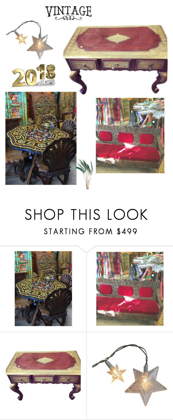 Indian Antique Coffee Table by era-chandok on Polyvore featuring interior, interiors, interior design, home, home decor, interior decorating, rustic, vintage and IndianAntiqueCoffeeTable