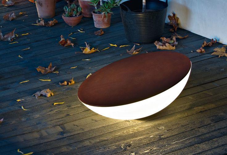 Foscarini Solar Outdoor Demo Led Leuchten Pinterest Leuchten   Leuchtende  Solar Tisch Foscarini
