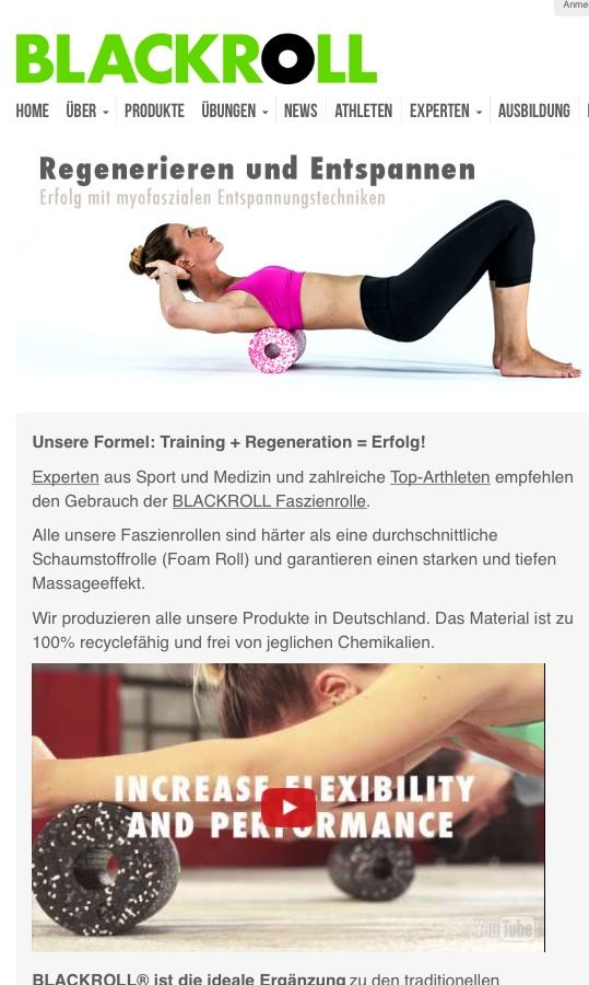 "BLACKROLL 10% off with Rabattcode ""fitweltweit2016""  BLACKROLL Training   #muscle #bodybuilding #healthy #detox #cheap #fitness #fit #trend #trends #food #musthave #kaylaitsines #aua #blackroll #fitdurch2015 #freeathlete #motivation #giavanniruffin #workout #gym #freeletics #running #nopainnogain #bodybuilding #motivationquote #hellweek #discipline #training #fitnessgirl #success #noexcuses #health #eatclean #fitness #clapclap #howbaddoyouwantit #powerofwill #dream #machdichkrass #athletejourney #yogalove #yogaeverydamnday"