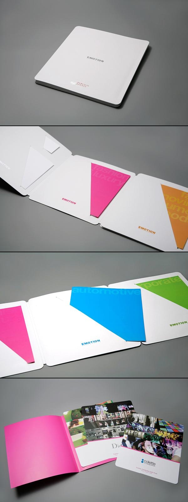 Emotion Book by Julmeme , via Behance