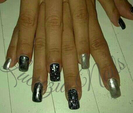 124 best nails images on pinterest nailart nail nail and simple nail art disco nails prinsesfo Images
