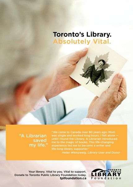 The late Helen Weinsweig, Toronto author of surreal fiction, began her creative journey as a young girl at the Toronto Public Library.