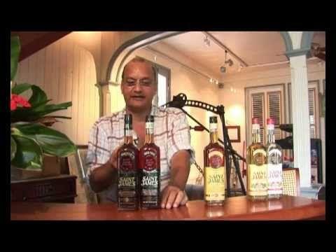 Présentation de la distillerie de rhum Saint-James par Michel Fayad
