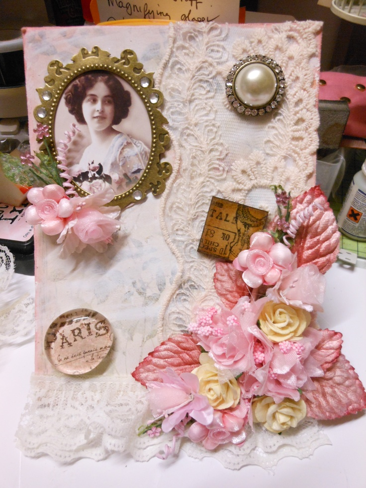Stunning Shabby Chic Plaque that I created