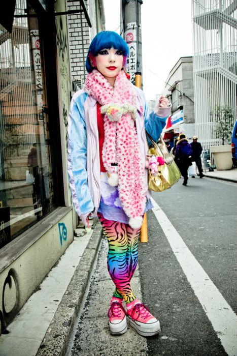rainbow/ zebra
