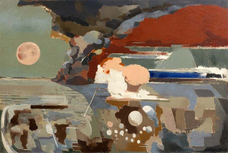 "Paul Nash, ""Battle of Germany"" (1944), Imperial War Museum, London (© Tate)"