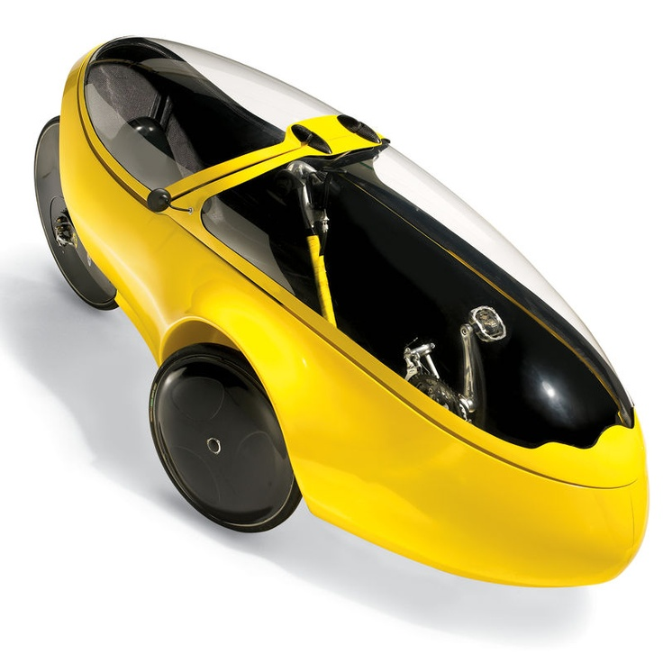 recumbent 3-wheel carbon fiber velomobile, 60lbs, turn signals and 1 headlmp $40K