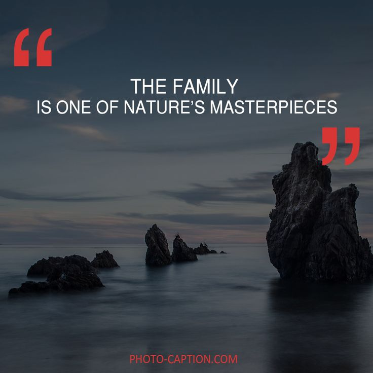 ''The family is one of nature's masterpieces.'' Check out the link in the bio for more family captions #Family #love #fun #friends #happy #kids #life #sister #baby #parenting #children #brother #me #moms #dads #mums #MommyMonday #motherhood #momlife #quote #quotes #quotegram #quoteoftheday #caption #captions #photocaption #FF #instafollow #l4l #tagforlikes #followback