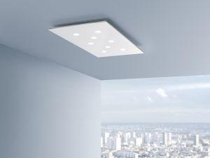 pop soffitto lampada da soffitto led bianco moderno rettangolare plafoniere