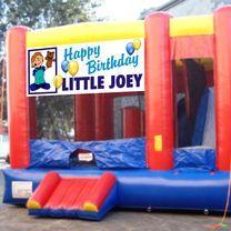 sports Jumping Castles : Happy Birthday