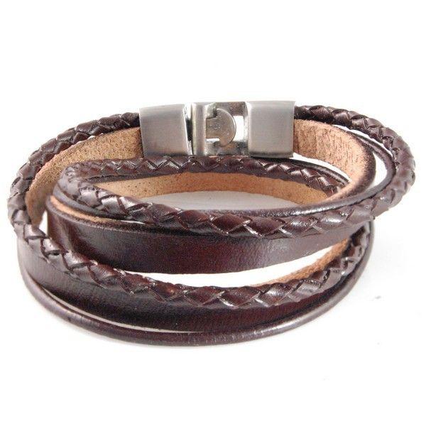 Leren armband dames/heren