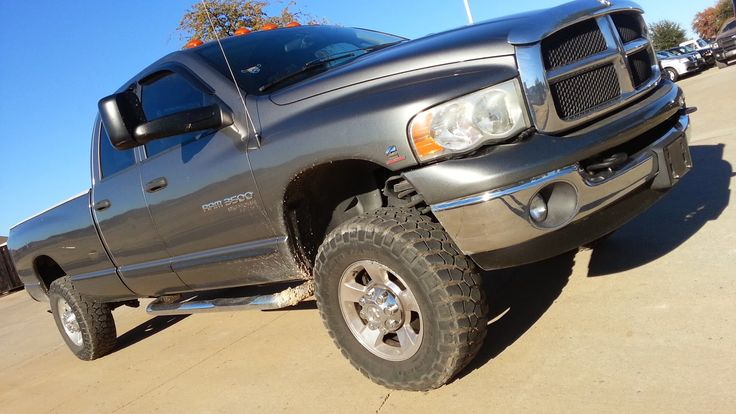 ford truck cummins 3500 | For Sale 2005 Dodge Ram SLT 4X4 3500 5.9 another well deserved firemans toy! Cummins, DFW Dealer in ...