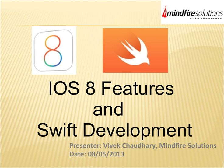 The Swift Programming Language with iOS App by Mindfire Solutions via slideshare