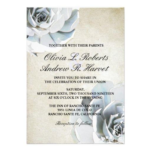 94 best Vintage Blue Wedding Invitations images on Pinterest
