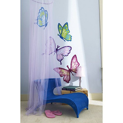 81 best images about mural playschool ideas on pinterest for Butterfly mural