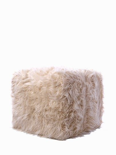 Baron Pouf  Contemporary, MidCentury  Modern, Transitional, Upholstery  Fabric, Stools, Ottomans  Pouf by Casa Dio