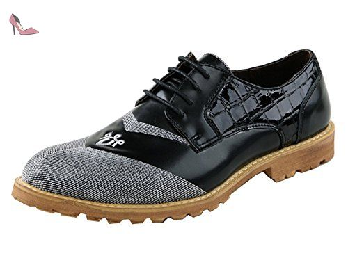 Minitoo , Chaussures à lacets homme - Noir - Nero (nero), 40 EU - Chaussures minitoo (*Partner-Link)