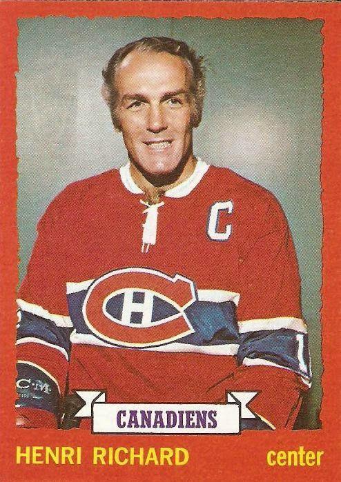 greatest hockey cards | Greatest Hockey Legends.com: Vintage Hockey Card of the Day: Henri ...