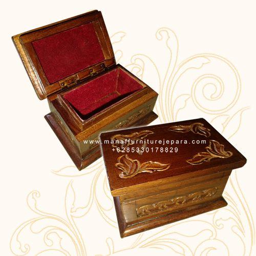 Kotak perhiasan, souvenir kayu, souvenir pernikahan, kotak batu akik