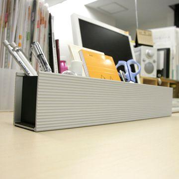 ALSTRAIN/ DESKORGANIZER(ブラック・45cm) 8400yen デスクの上を美しく整理してくれる便利な収納トレイ