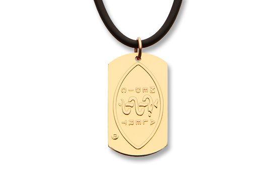 Gold-Filled Dog Tag & Gold-Plated Neoprene Necklet    Australia MedicAlert Foundation  #medicalert #medical_ID #medical_necklace #safety #dogtag