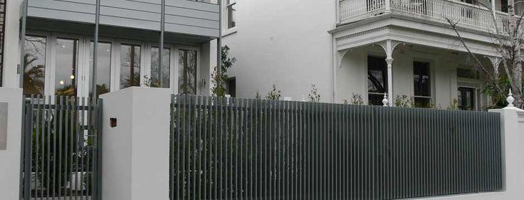 Slat Fencing Melbourne - Aluminium, Colorbaond, Timber, Metal Slat