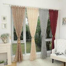 Divat-stílus jacquard ablak kezelések Cortinas luxus modern függönyök nappali (Kína (szárazföld))