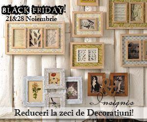 Reduceri si oferte produse si servicii: Reduceri de 50% la obiecte decorative!
