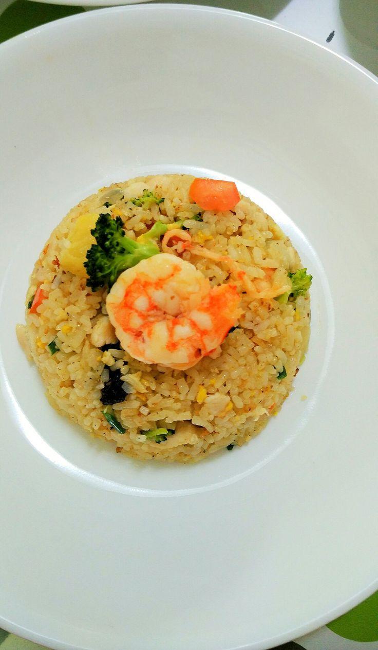 Pineapple Rice (Pailin's Kitchen)