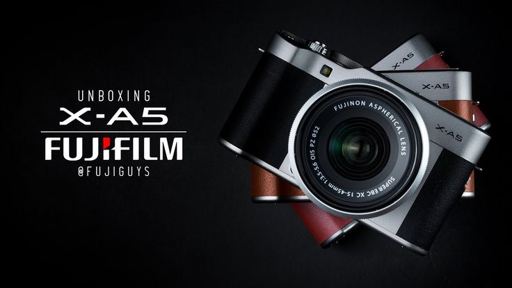 Fuji Guys - FUJIFILM X-A5 - Unboxing and Getting Started