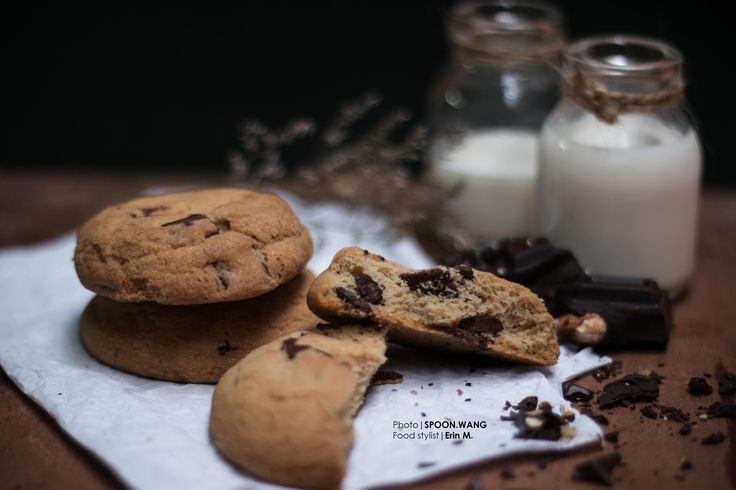 Chewie choco chips cookies, as my second food styling work