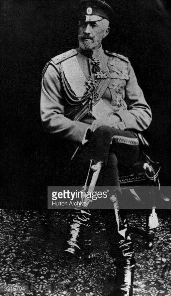 Russian Grand Duke Nicholas Nikolaievich, nephew of Alexander II