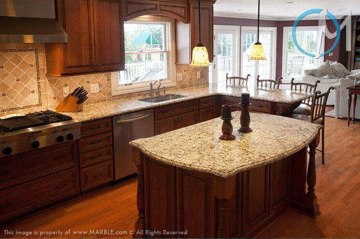 Santa Cecilia Countertops Cherry Google Search Kitchen