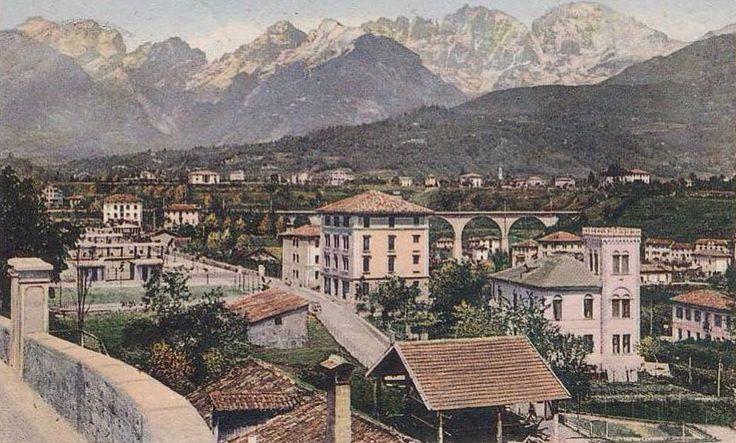 Viadotto Ferroviario sull'Ardo Belluno Dolomiti Veneto Italia da Belluno e la sua storia pagina FB https://www.facebook.com/groups/350195298472781/?ref=ts&fref=ts