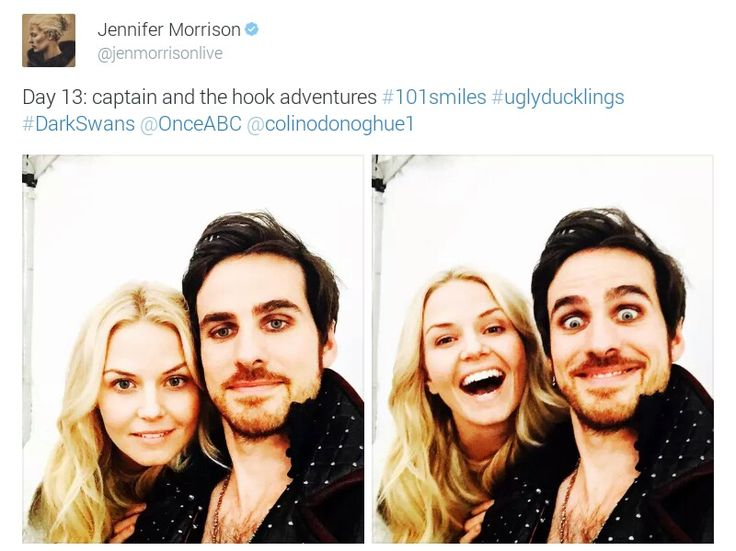 Colin odonoghue dating jennifer morrison 1