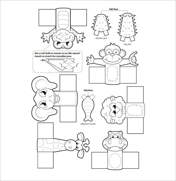 11 Finger Puppet Templates Free Pdf Documents Download