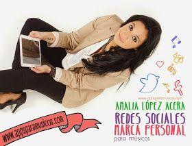 Redes Sociales y Marca personal para músicos. Entrevista a Amalia López Acera. ~ Apps para músicos