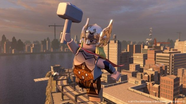 Jane Foster joins the new LEGO The Avengers game!