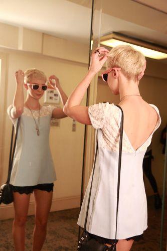 Marvelous 17 Best Ideas About Blonde Pixie On Pinterest Blonde Pixie Hair Hairstyles For Women Draintrainus