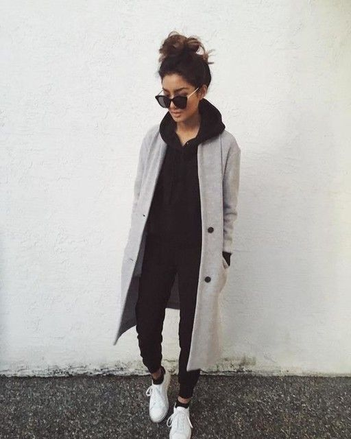 ahh, she's so cute | winter outfit, fall, fashion inspiration, casual, everyday, day to night, date outfit, minimalist, minimalism, minimal, simplistic, simple, modern, contemporary, classic, classy, chic, girly, fun, clean aesthetic, bright, white, pursue pretty, style, neutral color palette, inspiration, inspirational, diy ideas, fresh, street style, on point, trendy, on trend, glam, tousled, boho, stylish, 2017, sophisticated